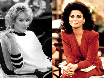 Designing Women, Delta Burke, ... | Delta Burke : 5 seasons (1986-91) Julia Duffy : 1 season (1991-92) Burke was canned from Designing Women for throwing tantrums or gaining weight —…