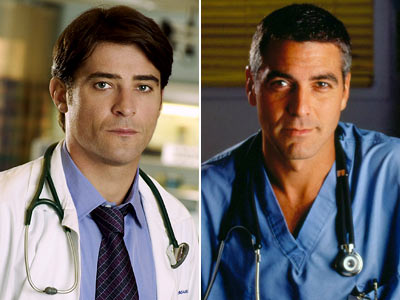 ER, Goran Visnjic, ... | Replaced George Clooney on ER No one could ever replace Doug Ross — or George Clooney — in our hearts. But when Clooney left ER…