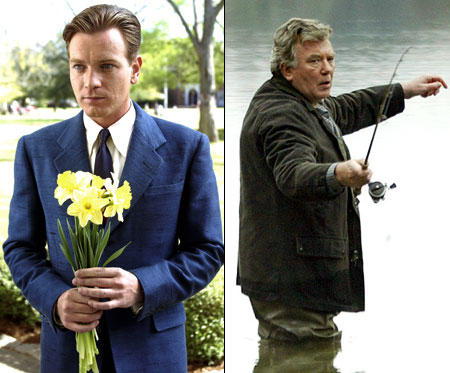 Big Fish   Truth may be fuzzy in this tale, but what's bright and clear is McGregor's gleeful romp as the young Edward Bloom, even if we don't…