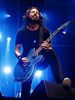 Dave Grohl, Foo Fighters | ROCK AND GROHL Foo Fighters frontman Dave Grohl
