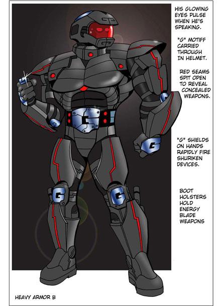 The Heavy Super Suit