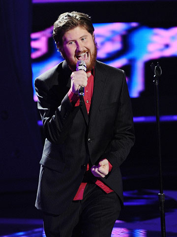 Casey Abrams | After a growlin' and howlin' rendition of Marvin Gaye's ''I Heard It Through the Grapevine,'' Casey earned the lowest number of votes...and then the judges…