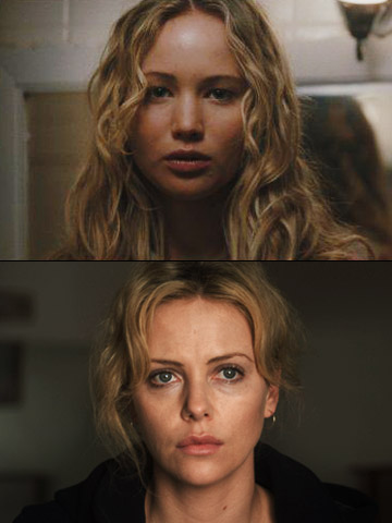 Charlize Theron, Jennifer Lawrence, ...   Before she toiled to keep her family together in Winter's Bone , Lawrence played a character who not only killed her mother (accidentally) but then…