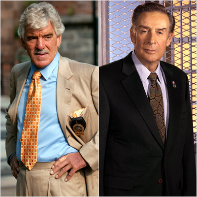 Jerry Orbach, Dennis Farina, ... | Replaced Jerry Orbach on Law & Order Farina came on L&O in 2004 armed with all Orbach's crustiness but none of the gravitas. Besides: Jerry…