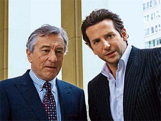 Robert De Niro, Bradley Cooper, ... | DICEY RELATIONSHIP Robert De Niro and Bradley Cooper in Limitless