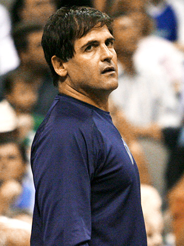 Mark Cuban | Layup or lay out? No stranger to controversy, the Dallas Mavericks owner was fined $25,000 by the NBA for two messages that complained about the…