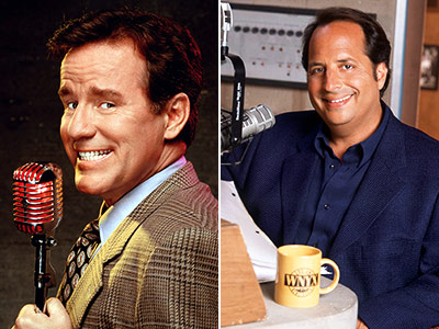 NewsRadio | Phil Hartman : 4 seasons (1995-98) Jon Lovitz : 1 season (1998-99) NewsRadio was a great ensemble comedy, but Hartman's egotistical news anchor Bill McNeal…