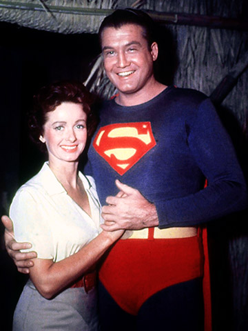 Superman | Noel Neill has actually played the first onscreen Lois in some late-40s movie serials, and returned to the role for five seasons on The Adventures…
