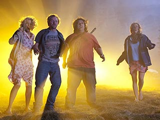 Nick Frost, Simon Pegg   Simon Pegg and Nick Frost in Paul