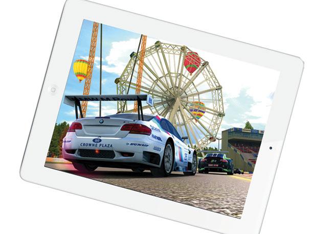 Real Racing 2 HD iPad app