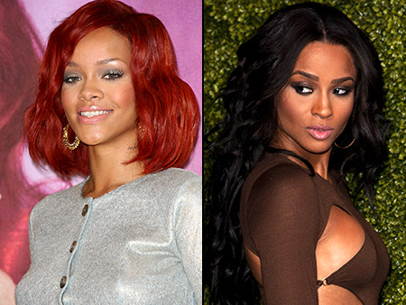 Ciara, Rihanna | Twitter fight! Catfights can hurt a girl's image, even on Twitter. In February 2011, after Ciara told Joan Rivers on E!?s Fashion Police that Rihanna…