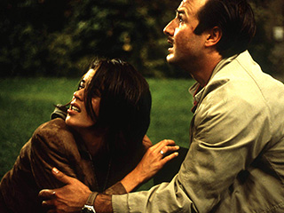 Neve Campbell, David Arquette, ... | HORROR CLICHES Neve Campbell and David Arquette in Scream 3