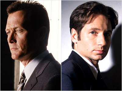 The X-Files, David Duchovny, ... | David Duchovny : 7 seasons as series regular (1993-2000); 2 seasons recurring (2000-01) Robert Patrick : 2 seasons (2000-02) When it went off the air…