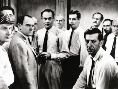 12 Angry Men   12 ANGRY MEN (1957) Sidney Lumet was a director at CBS, helming episodes of TV shows such as Danger and You Are There , when…
