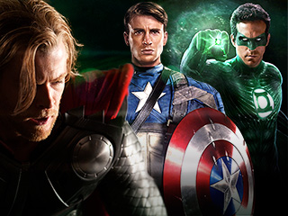 2011 Superhero Year