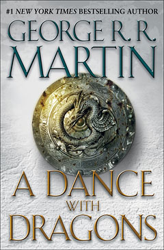 DRAGON'S SHARE Martin's follow-up to 'A Feast for Crows' is a smörgåsbord of complex characters, thrilling action, and fulfilling fantasy