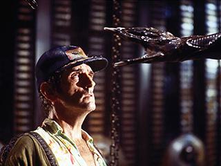 Alien, Harry Dean Stanton | CREEPY MONSTERS Harry Dean Stanton in Alien