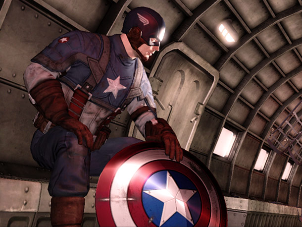 Suit up in the red, white, and blue for this original, interactive take on Marvel's upcoming blockbuster-to-be. Behind Captain America's iconic shield and patriotic fervor,…