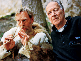 Werner Herzog | EXPLORING CHAUVET CAVE Wulf Hein and Werner Herzog in Cave of Forgotten Dreams