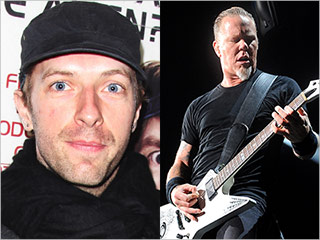 Chris Martin James Hetfield