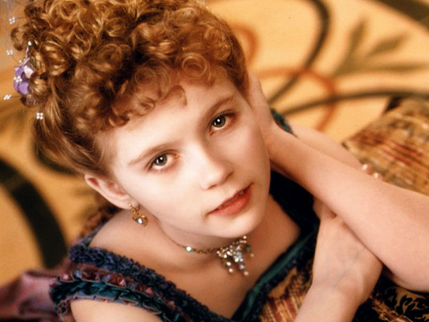 Kirsten Dunst   Kirsten Dunst was 10 when she played a little girl rescued from a plague death by the bite of a vampire. Unfortunately, an eternity as…