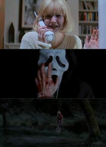 Scream, Drew Barrymore | The scene that started it all. Barrymore played Woodsboro teen Casey Becker, the first of many to receive a phone call from Ghostface. Casey (and…
