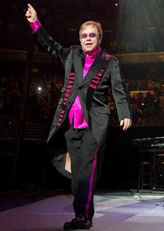 Elton John | Royal connection: A longtime friend of Diana's Why we're excited: The buzz is all about Kate's gown, but we're just as eager to see Sir…