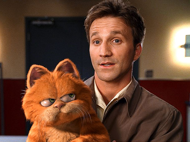 Garfield | On paper, at least, Bill Murray as the voice of Garfield sounded like an inspired idea: The actor's lush, self-satisfied singsong meshes snugly with the…
