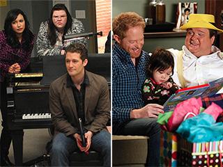 Glee Modern Family