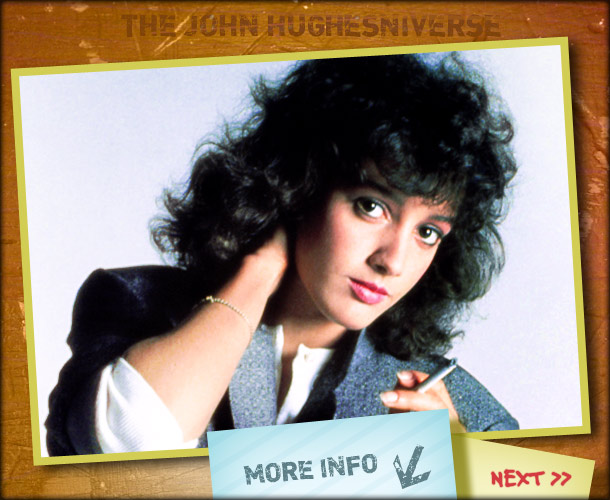 John Hughes | ''It was on the heels of Flashdance and Paramount was going to give the part to Jennifer Beals,'' Ringwald said. ''It was like somebody else…