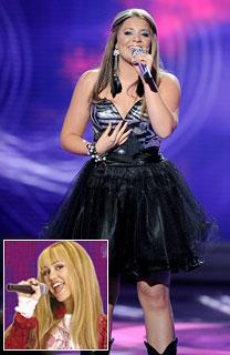 Idol Lauren Alaina Cyrus