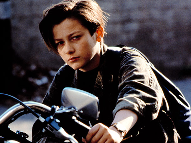 Edward Furlong, Terminator 2: Judgement Day Wide-Screen Limited Edition | The future savior of the human race had a bad hair day that lasted most of his adolescence, but Edward Furlong's 13-year-old John won us…