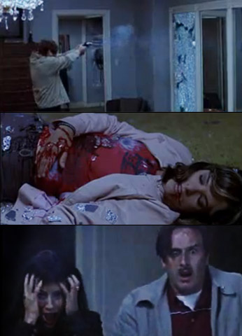 Parker Posey, Scream 3 | Jennifer thought she'd escaped Ghostface by finding a secret passage in Milton's house. But she was stabbed behind a two-way mirror and discovered by Gale…