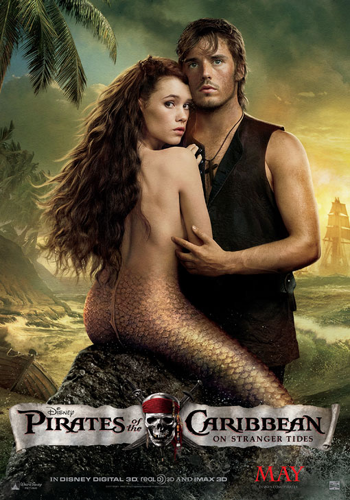 Pirates Poster Mermaid