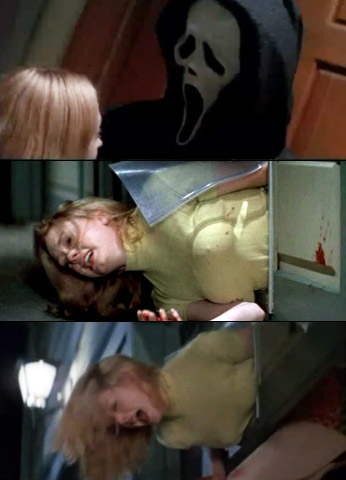 Rose McGowan, Scream | Poor Tatum Riley was only trying to be helpful and get some more beers for her boyfriend, Stu. But her trip to the garage was…