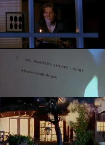 Matt Keeslar, Scream 3 | Tom Prinze was set to play a Dewey rip-off in Stab 3 , but he perished when Ghostface blew up Jennifer's house.
