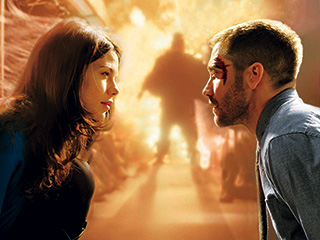 Jake Gyllenhaal, Michelle Monaghan, ... | ON A MISSION Michelle Monaghan and Jake Gyllenhaal in Source Code