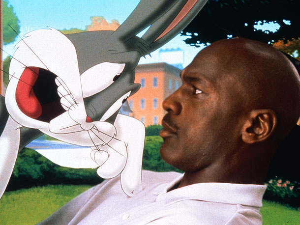 Space Jam | Desperately seeking corporate synergy, merchandising tie-ins, and a piece of the love generated by Who Framed Roger Rabbit , this frantic, dud novelty act (based…