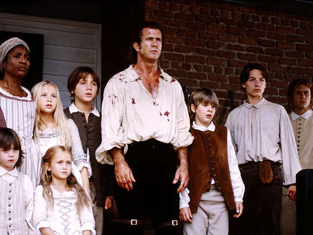 The Patriot (Movie - 2000) | They helped their father decimate an entire redcoat patrol. Sound horrifying? Brother, these kids were raised by Mel Gibson . They've seen it all.