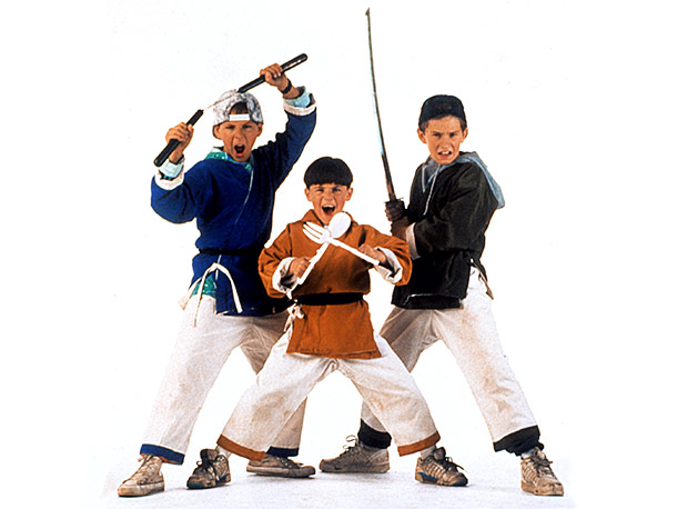 3 Ninjas | Schooled in ninjutsu by their grandfather, these three brothers were given cool new ninja names: Rocky, Colt, and Tum Tum. (Well, two of them got…