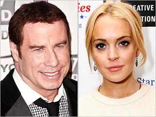 Travolta Lindsay Lohan