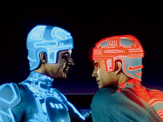 Jeff Bridges, Tron, ... | GEEK DREAM Bruce Boxleitner and Jeff Bridges in TRON
