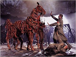 Peter Hermann | WAR HORSE Peter Hermann (standing) and Elliot Villar