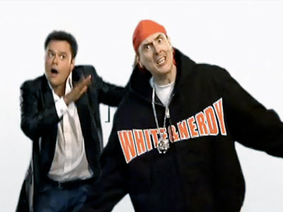 Weird Al Yankovic | 8. ''White and Nerdy'' (2006) Parodies: Chamillionaire's ''Ridin'' Watch Here Al's biggest chart hit (it peaked at No. 9 on the Billboard Hot 100) is…
