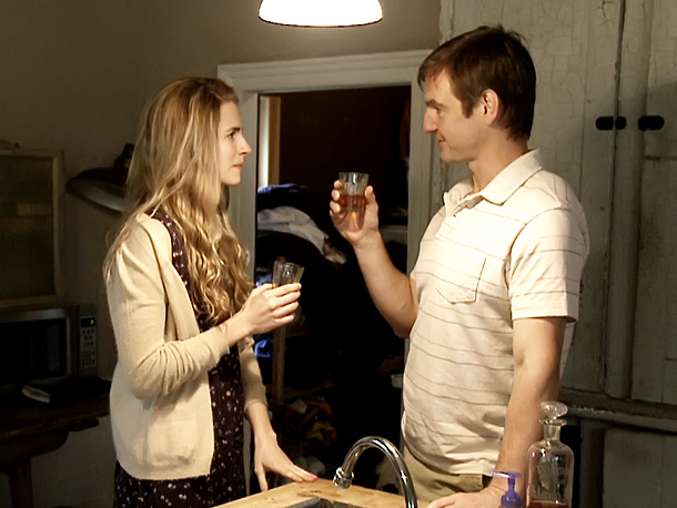Brit Marling and William Mapother