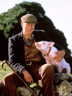 Babe, James Cromwell | ''That'll do, pig. That'll do.'' Oscar-nominated for his role as the terse but warm-hearted Farmer Hoggett, James Cromwell's simple approval of his pig-turned-sheepherder, Babe, left…