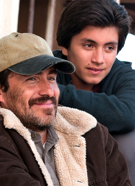 Demián Bichir and Jose Julian