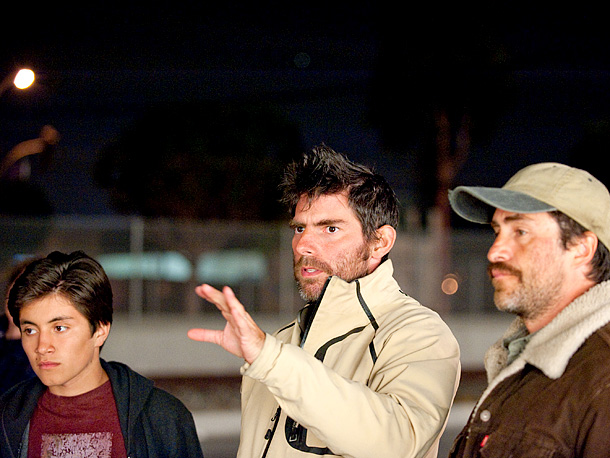 Jose Julian, Chris Weitz and Demián Bichir