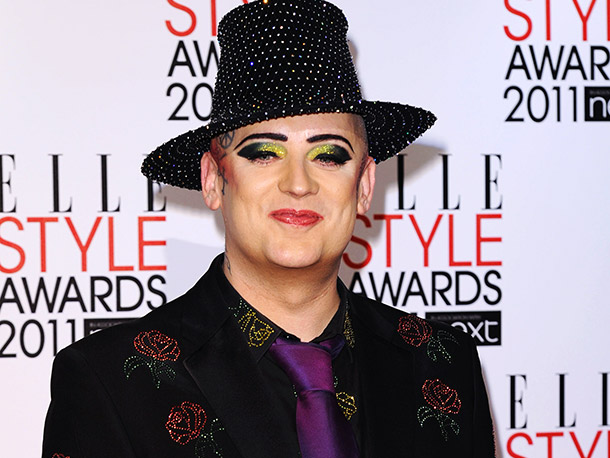 Boy George | I don't know how much of a ''boy'' he still is, but I do know that the androgynous Culture Club frontman would be a hilarious…