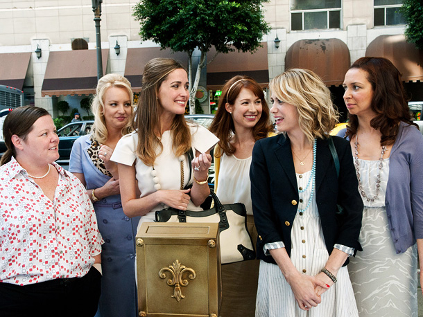 Bridesmaids, Kristen Wiig, ... | Kristen Wiig stars as a forever-single failed cake-shop owner whose bond with her best friend Lillian (Maya Rudolph) is strained when Lillian gets engaged. ''Her…